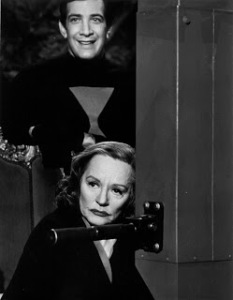 With Tallulah Bankhead